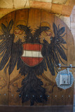 Eagle Emblem, Nuremberg Castle, Nuremberg, Bavaria, Germany