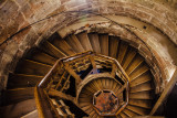 Sinnwell Tower staircase, Nuremberg Castle, Nuremberg, Bavaria, Germany