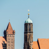 Towers, Nuremberg, Bavaria, Germany