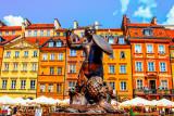 Monument of the Warsaw Mermaid (Pomnik Warszawskiej Syrenki)