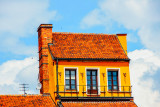 Windows, Old Town, Warsaw, Poland