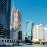 NBC Tower, Loews Building, Sheraton, Chicago, Illinois