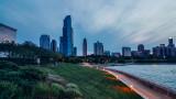 Chicago, View from Shedd Aquarium