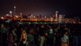 Jazzin in the Shedd, Chicago, View from Shedd Aquarium