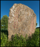 The stone at Ed Voxtorp raised by Toste to Ätte