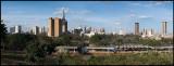 Nairobi downtown panorama (8 pictures)