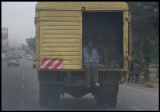 Kenyan exhaust is sometimes thick and painfully smelly