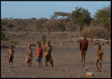 Masai Children - always jumping....