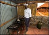 Our Tanzanian chef in Maasai Nkoirero Camp