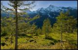 High alpine area near Grossglockner (Austria)