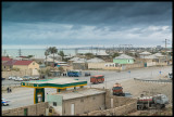 The northen suburbs and oilfields of Baku