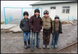 Young boys in Xinaliq village