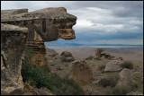 Gobustan cliffs