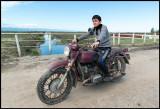 Motorcycle Boy at Baliqcilar