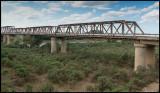 The old Salyan bridge over Kura - built by German prisoners of WWII
