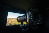 Waiting for the Spanish Imperial eagle with my D4 and 600/4 VR