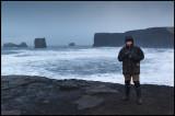 Jan-Michael at Dyrholaey (Island) -  Photo by Laszlo Illes