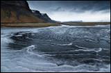 Ice formation near Skaftafell