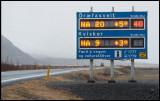 Roadsign warning for hurricane winds!!!
