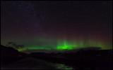 Northern Light over Myrdalsjökull - Iceland