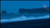 Dyrholaey lighthouse at dawn