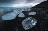 Ice at Jökulsarlon - Iceland