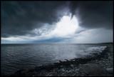 A heavy (!!!) rainstorm approaching Degerhamn - Öland
