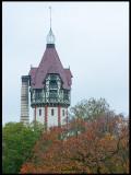 Beelitz-Heilstätten tower and power chimney