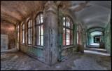 Corridor in one of the women´s buildings