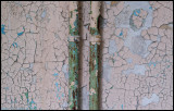 Rusty pipes and old paint