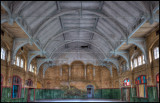 The old russian gymnasium (former dining room)