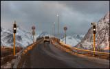 The bridge over Breisundet - King Olavs Road - Lofoten