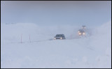 Getting over the border from Norway to Sweden in storm
