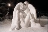 Elkoll - winning icesculpture in Kiruna (Ekman/Ekube)