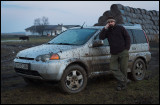 A muddy experience together with Zoltan Pabar on the Hungarian puszta