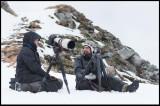 Felix Heintzenberg & och Johannes Rydström at Hornøya Norway
