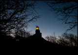 The lighthouse at Kullen at dawn