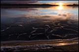 A very cold dawn at Gunnön - Blekinge