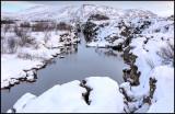 Hot spring water at Tingvellir