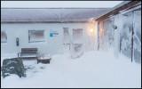 Hotel Hof near Vatnajökul - the storm building up....