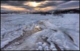 Ice from Strokkur - Geyser / Iceland