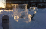 Ice chair - Kalix winter exhibition