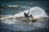 Kite surfing at Grönhögen - Öland
