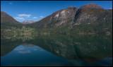 Oppstrynvatn near Stryn a calm day...