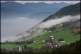 Morning fog at Utvik by Innfjord