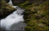 Stream along the old mountain road  Björgavegen - Norway