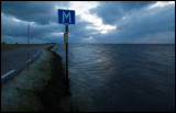 Ottenby - Extreme sea level after heavy winds