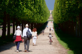 Walking to the Palace of Versailles