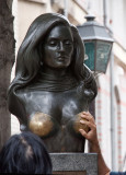 Bust of Dalida at Montmartre