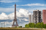 Final view of the Eiffel Tower from the ship